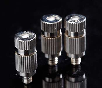 anti-drip brass misting nozzle