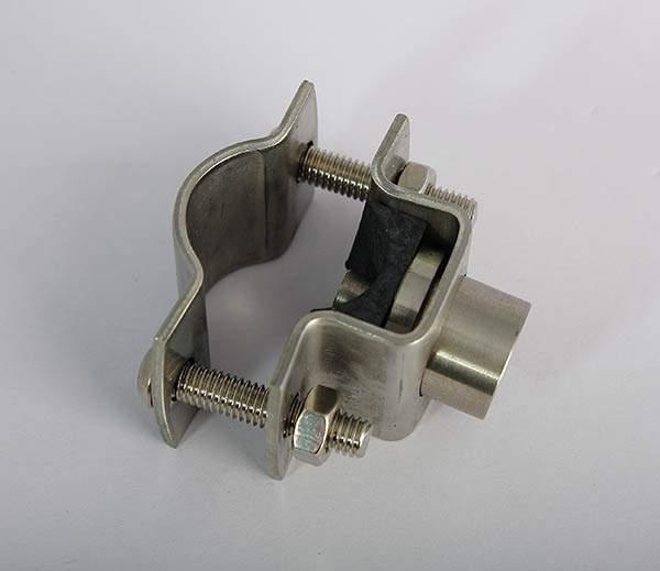 connettore a morsetto metallico 14