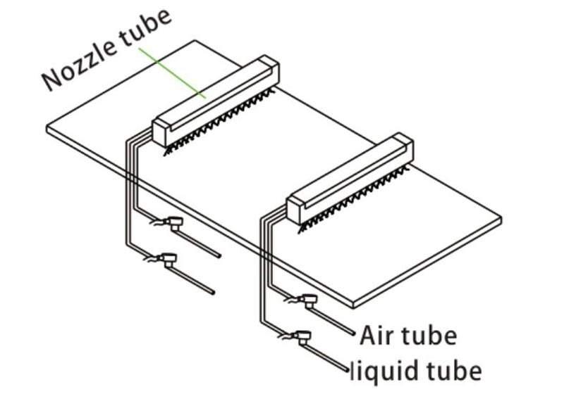 Ugello atomizzatore aria automatico DJ 8