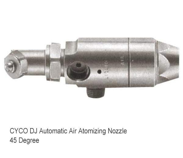 Ugello atomizzatore aria automatico DJ 2