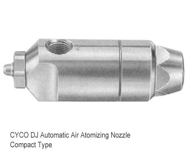 Ugello atomizzatore aria automatico DJ 3