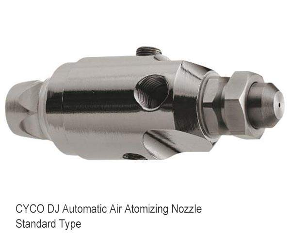 Ugello atomizzatore aria automatico DJ 1