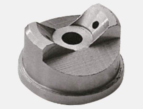 Testa dell'ugello di nebulizzazione ad aria a pressione piatta