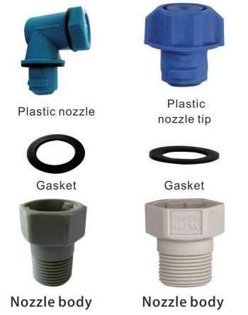 QJJ Plastica Dismantling Spray Ugello 2