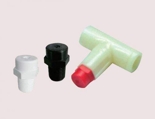 Ugello di nebulazione in plastica